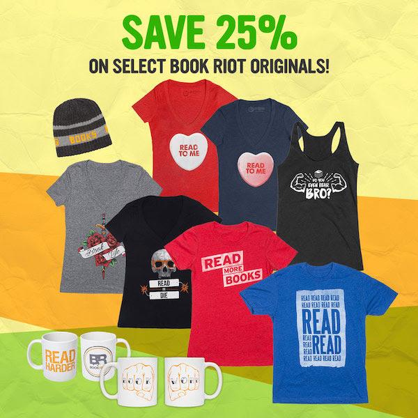 25 percent book riot goods