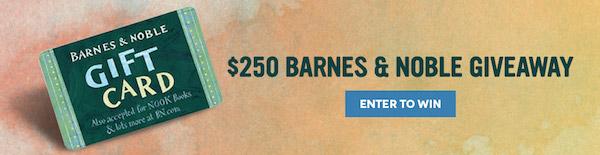 $250 Barnes & Noble Giveaway