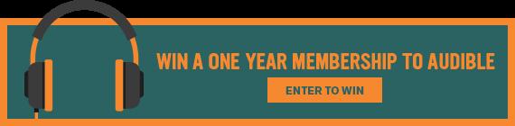 Win a Free Membership to Audible