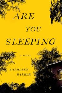 Are You Sleeping cover image: yellow sky wtih silhouette of trees and corner of house
