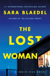 The Lost Woman cover image: Blue sky wtih a corner of a house and a woman standing in the window