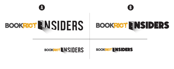 alternative version of the Book Riot Insiders logo