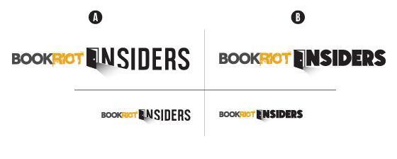alternative version of the Book Riot Insiders logo