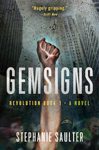 cover of Gemsigns by Stephanie Saulter