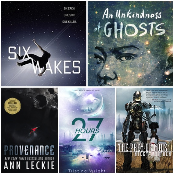5 Sci Fi Books To Give Cover Collage