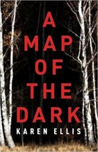 A Map of the Dark cover image: dark image of forest trees with title text in center