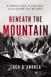 Beneath the Mountain cover image: black and white image of mountains