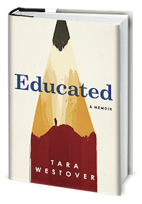 cover image: a book at an angle with a white cover and the tip of a sharpened red pencil