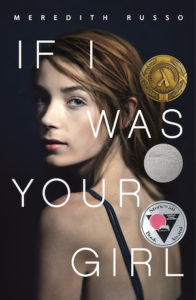 cover image: white teen thin girl looking over her shoulder