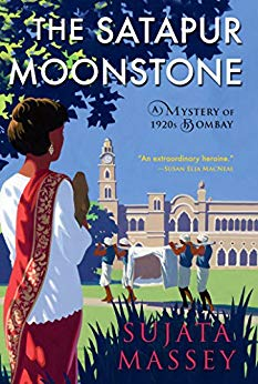 The Satapur Moonstone by Sujata Massey cover image