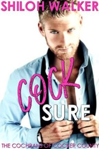 cover of cocksure by shiloh walker
