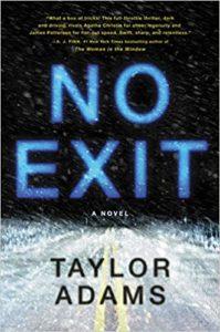 no exit by taylor adams cover image