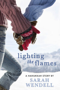cover of lighting the flames by Sarah wendell