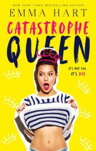 cover of catastrophe queen by emma hart