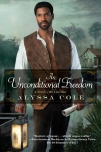 cover of unconditional freedom by alyssa cole