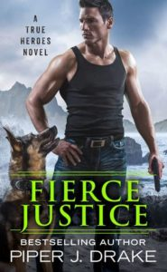 cover of fierce justice by piper j drake