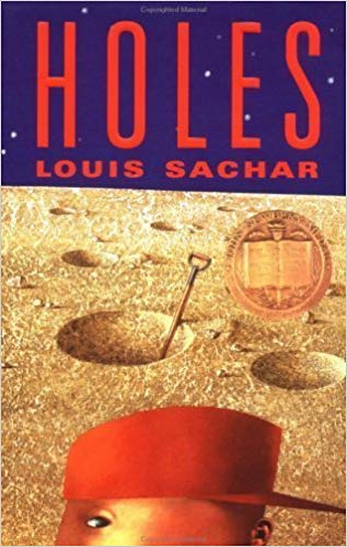 cover of Holes by Louis Sachar