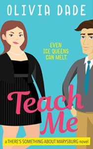 cover of teach me by olivia dade