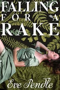 cover of falling for a rake by eve pendle