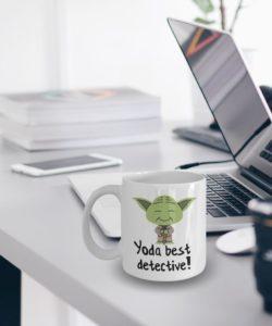 Yoda mug best detective