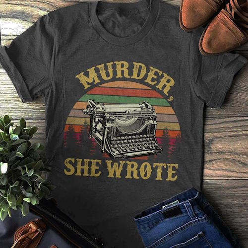 Murder, She Wrote t-shirt