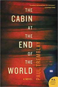 cabin at the end of the world paul tremblay book cover