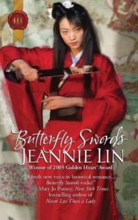 cover of butterfly swords by jeannie lin