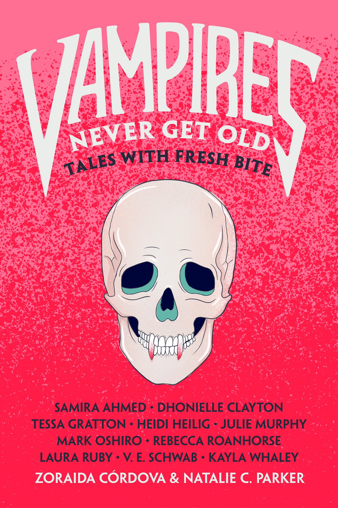 Cover of Vampires Never Get Old anthology