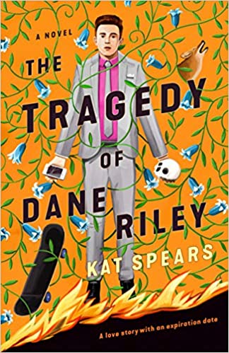 cover of the tragedy of dane riley