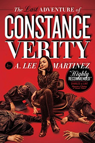 cover of the last days of constance verity