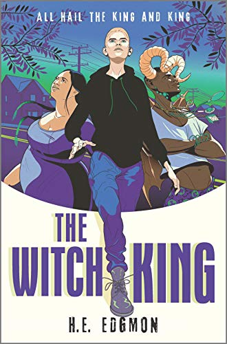 Cover of The Witch King by H. E. Hedgmon