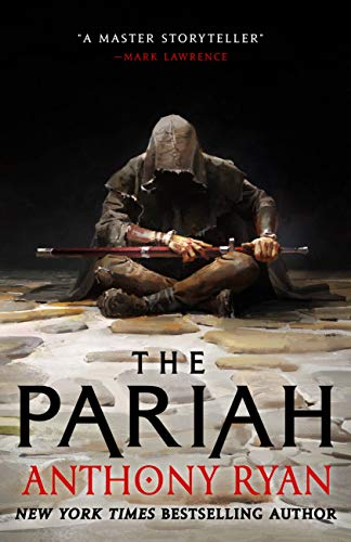 cover of the pariah by anthony ryan