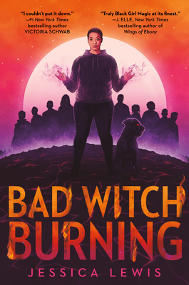 Cover of Bad Witch Burning by Jessica Lewis