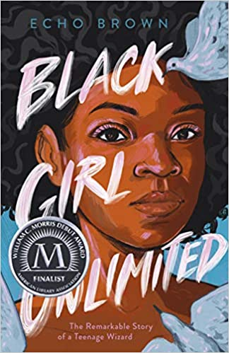 cover image of black girl unlimited by echo brown