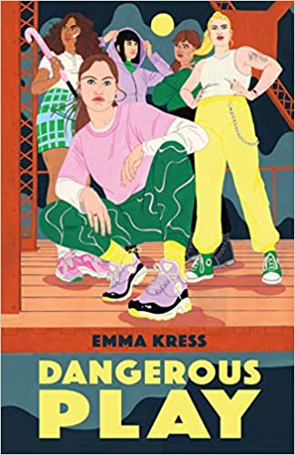 cover of Dangerous Play by Emma Kress