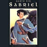 Sabriel audiobook cover