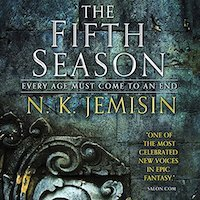 audiobook cover image of The Fifth Season by N.K. Jemisin