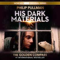 The Golden Compass audiobook cover