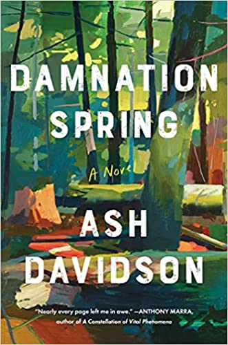 cover of damnation spring by ash davidson