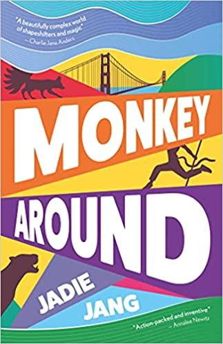 Cover of Monkey Around by Jadie Jang