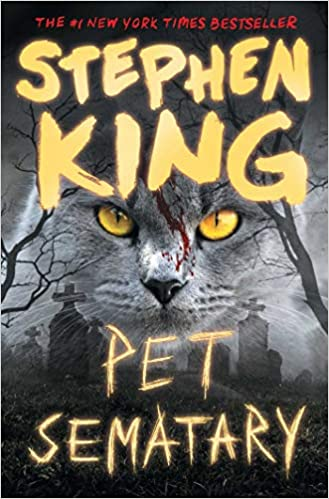 cover of pet sematary by stephen king