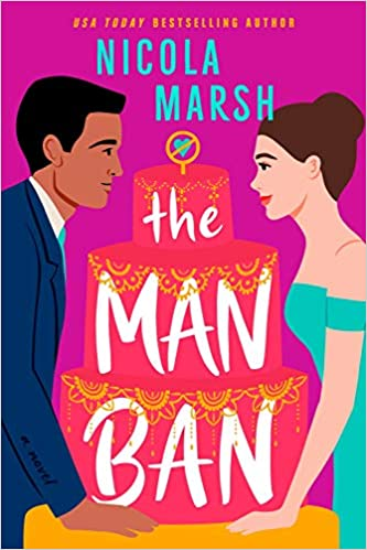 cover of the man ban by nicola marsh