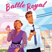 A graphic of the cover of Battle Royal
