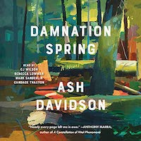 A graphic of the cover of Damnation Spring