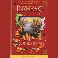 A graphic of the cover of Inkheart