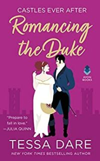 cover of romancing the duke