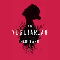 A graphic of the cover of The Vegetarian