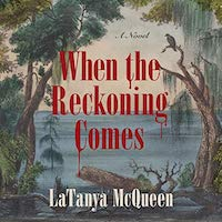 A graphic of the cover of When the Reckoning Comes