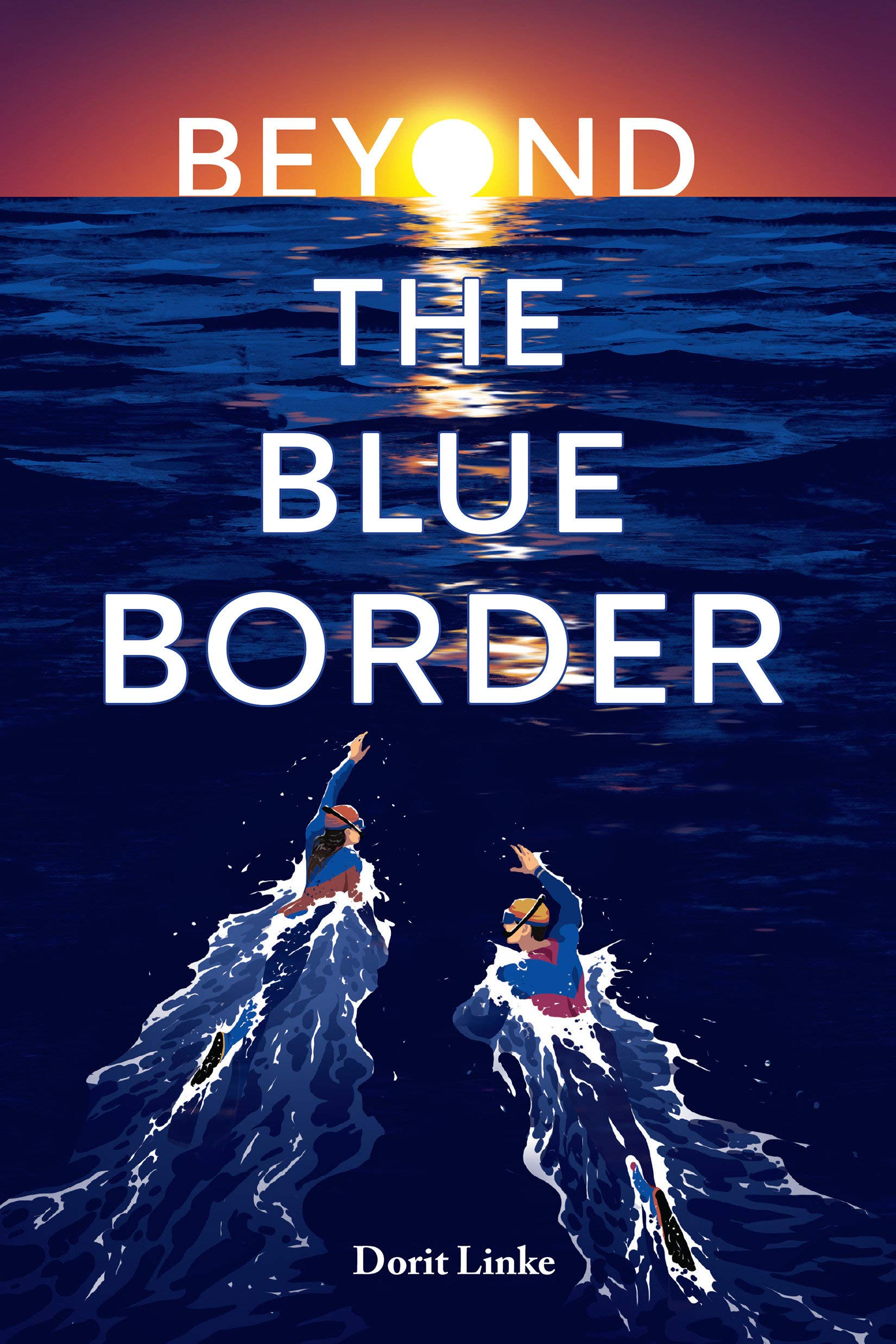 beyond the blue border book cover