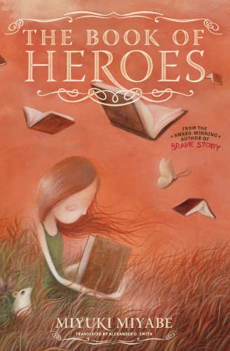 Cover of The Book of Heroes by Miyuki Miyabe
